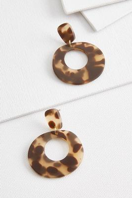 donut tort earrings