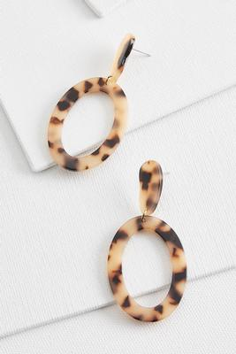 double dangle tort earrings