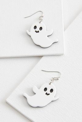 friendly ghost earrings
