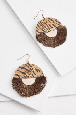 fierce fringe earrings