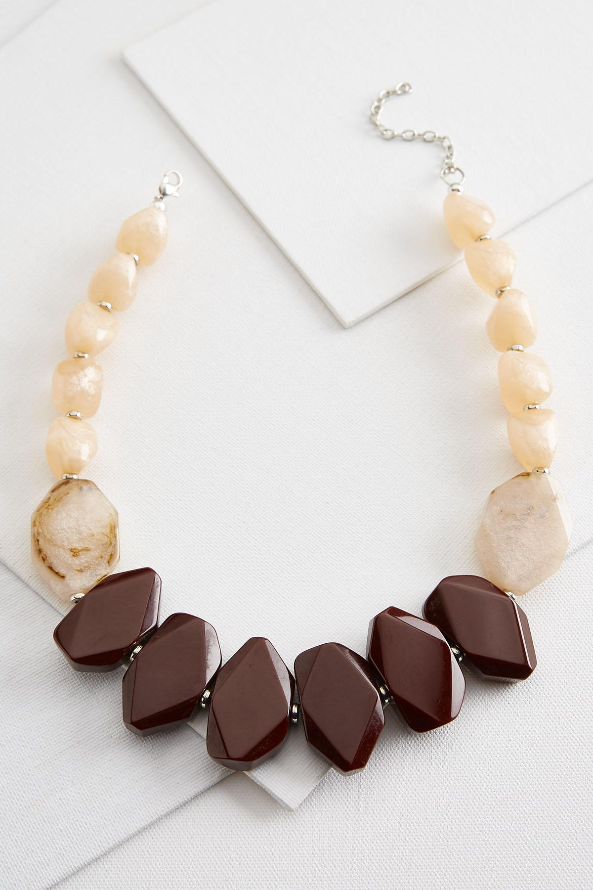 Natural Bib Necklace