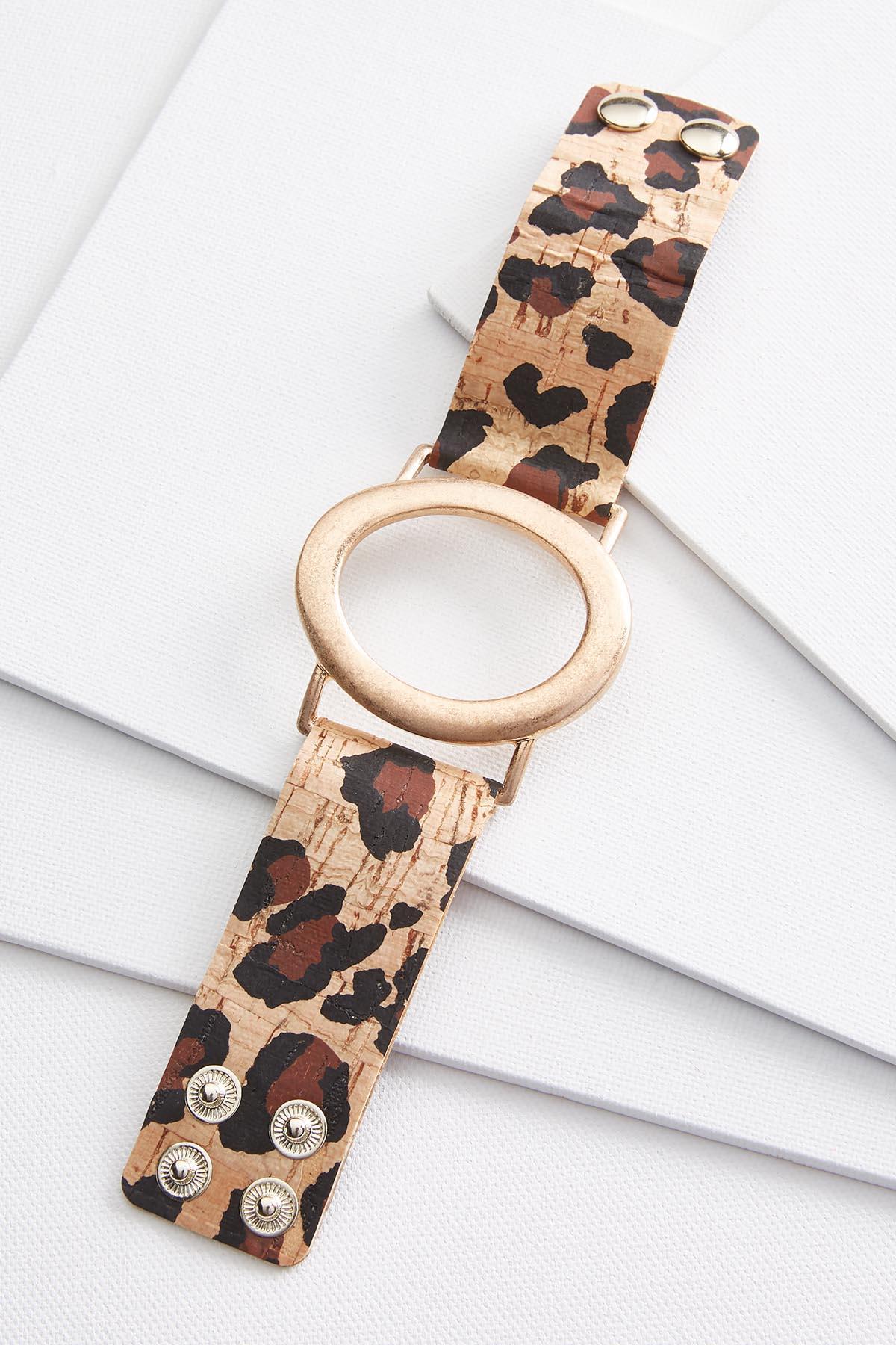 Leopard Snap Bracelet
