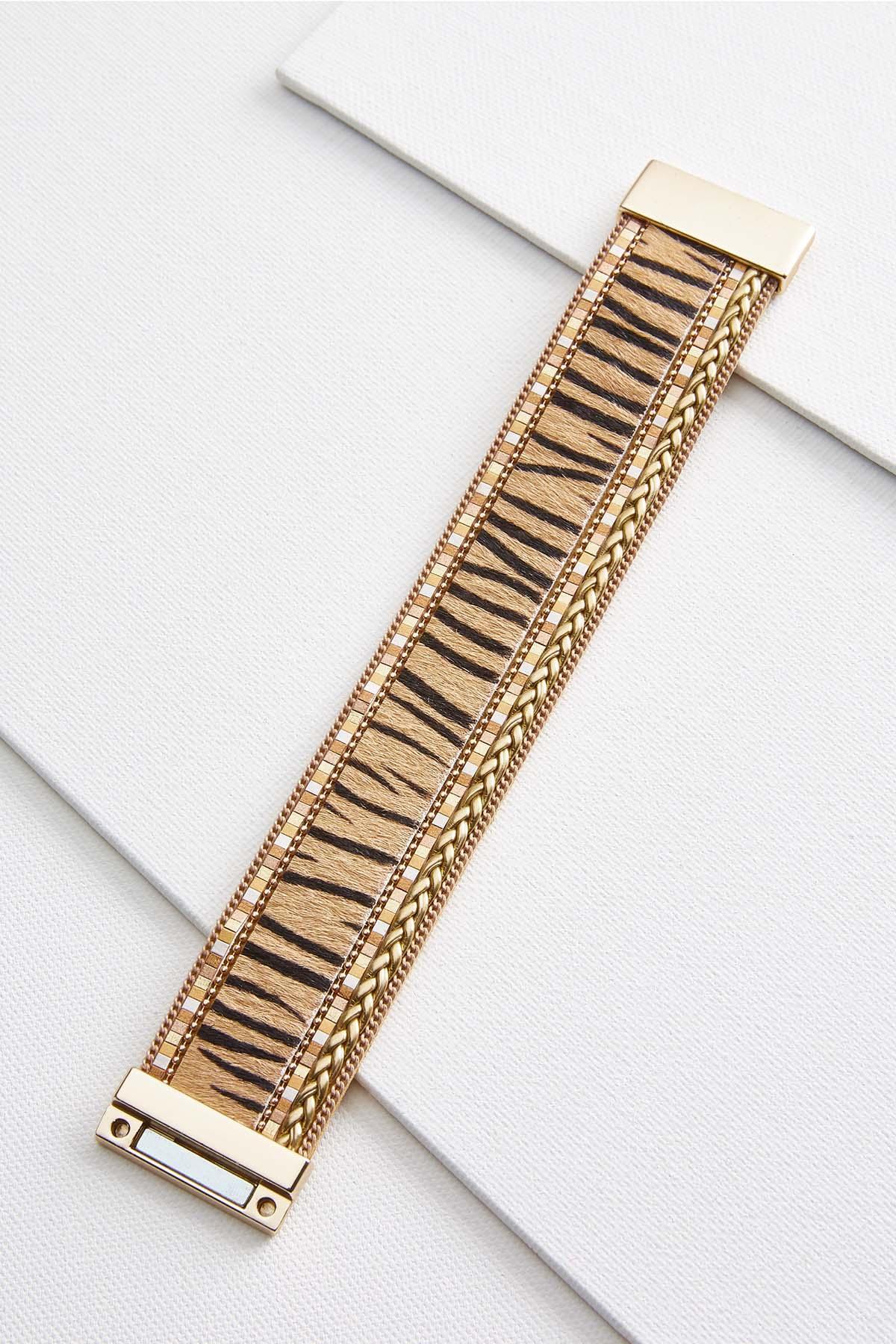 Braided Bead Bracelet