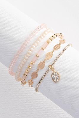 seed bead leaf bracelet