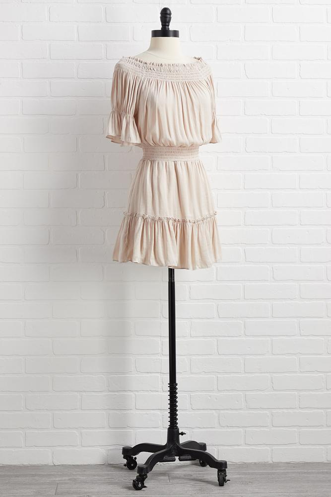 Smock Smock Joke Dress