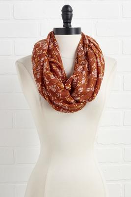 pumpkin spice scarf
