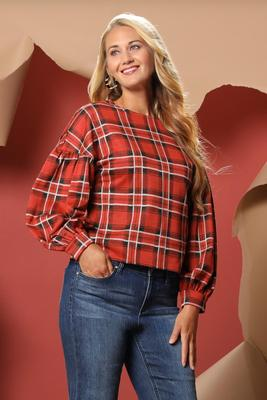 don`t be plaid at me top