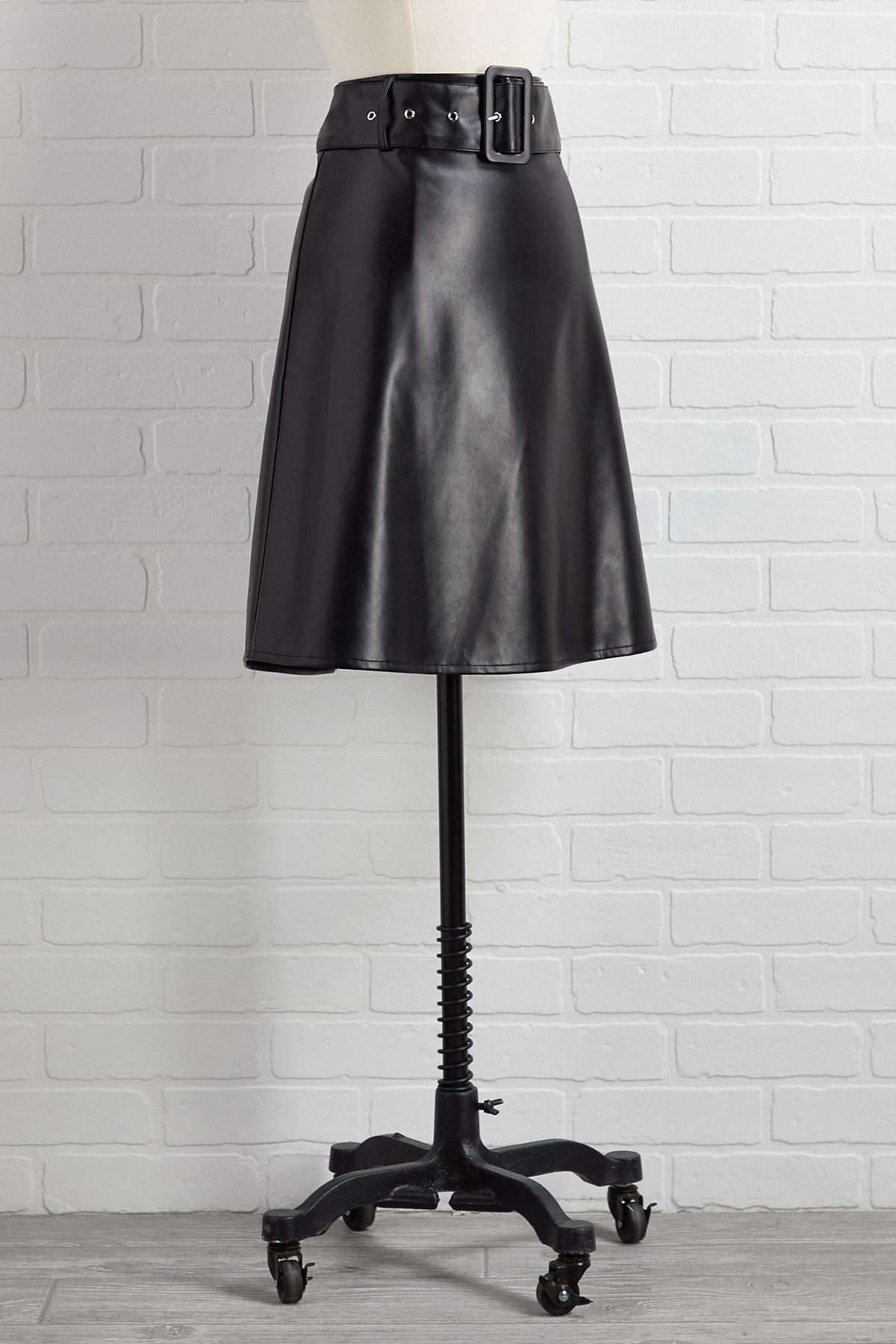 All Faux Show Skirt