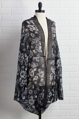 garden girl kimono
