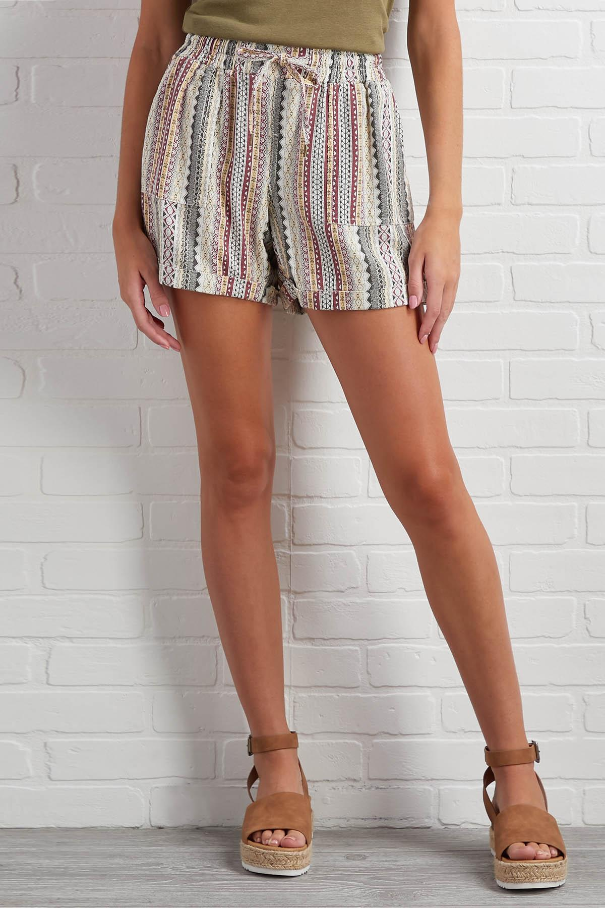 Come Aztec You Are Shorts