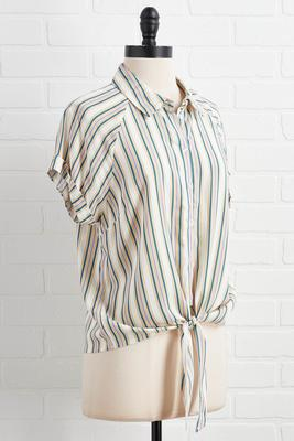 wrong or stripe top