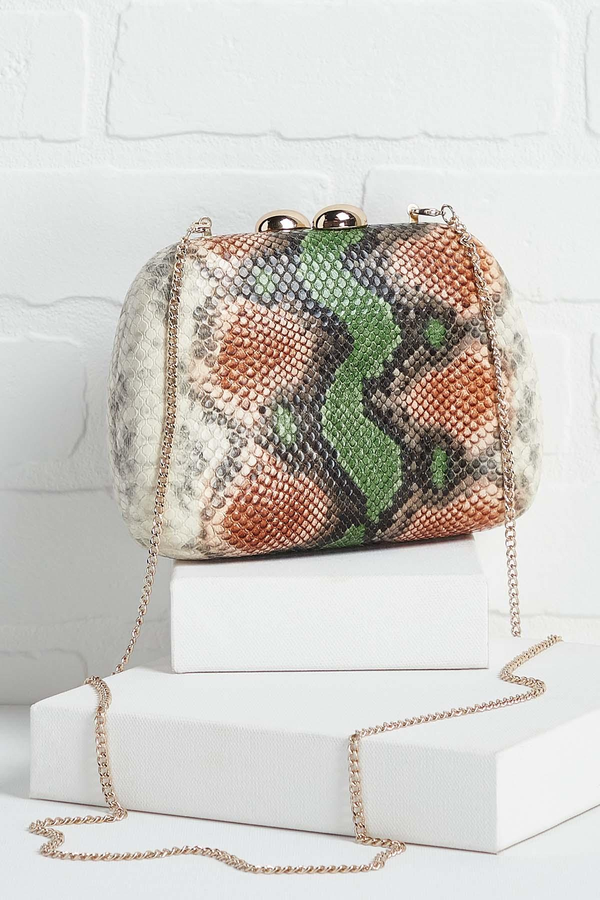 Snake Your Dreams Reality Clutch