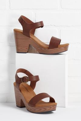 wedge way is right sandals