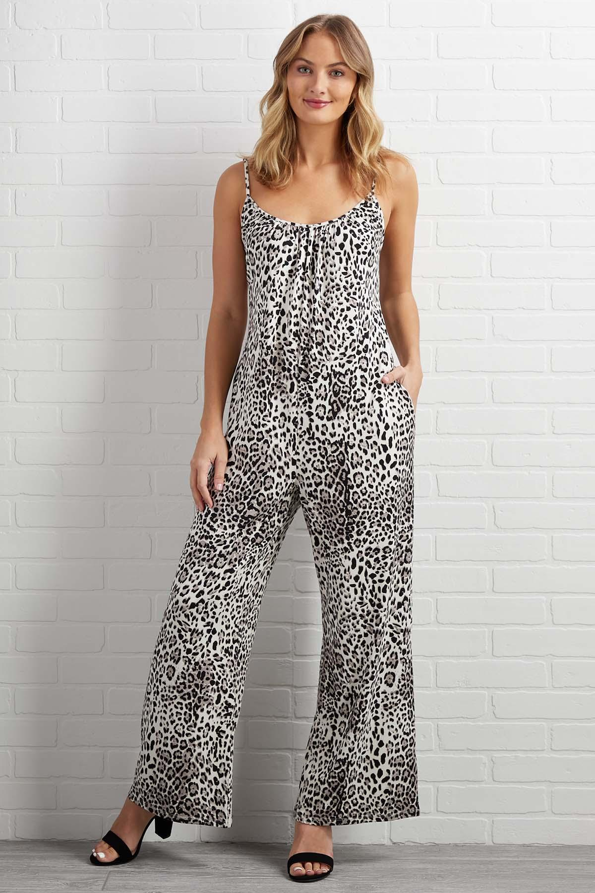 Don ` T Be A Cheetah Jumpsuit