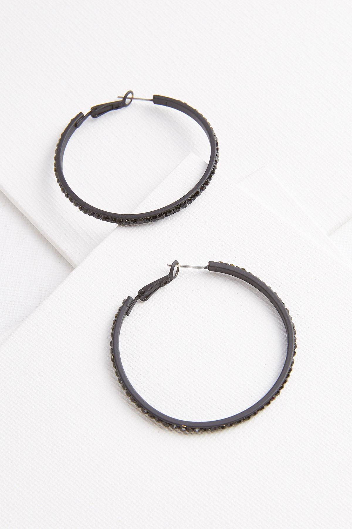 Moonlight Hoop Earrings