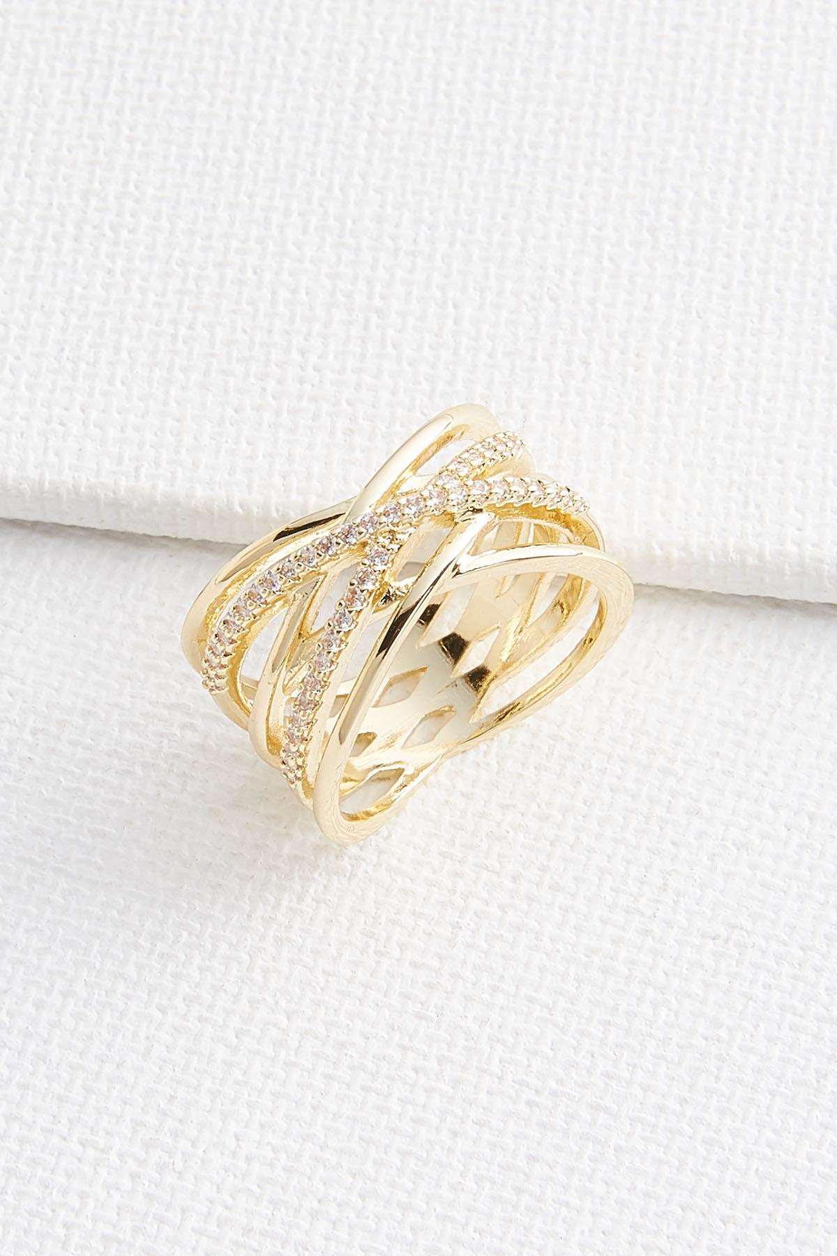 Dainty Pave Ring