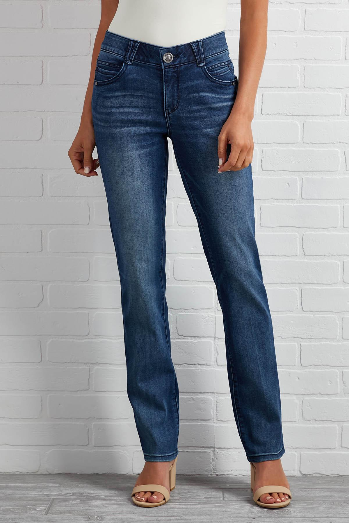 Straight To The Point Jeans