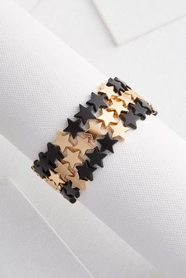 star stretch bracelet set