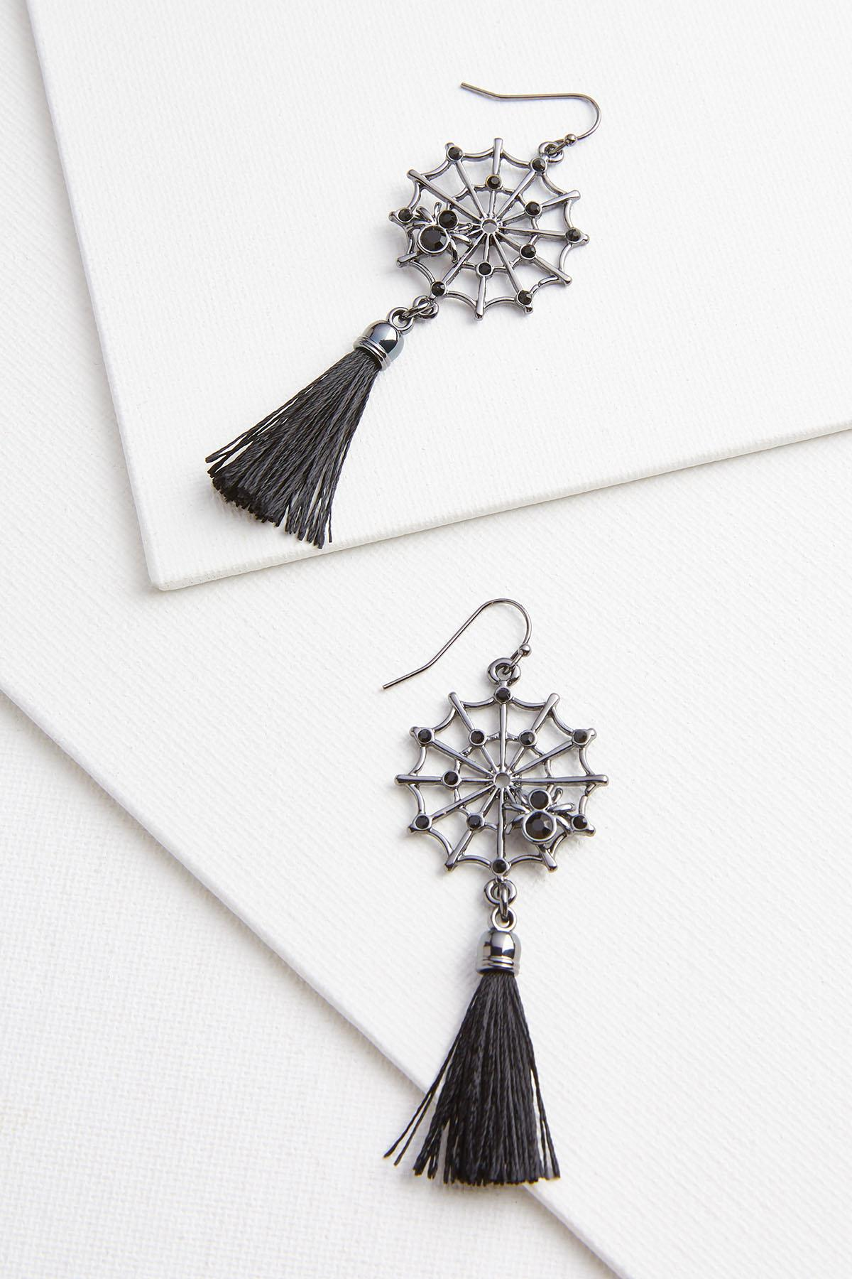 Web Of Lies Earrings