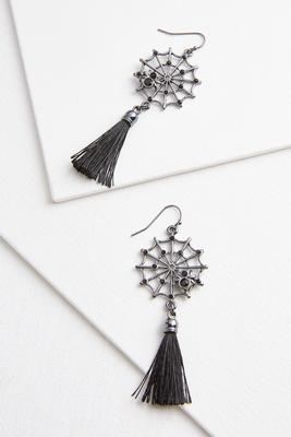 web of lies earrings