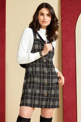 game well plaid dress