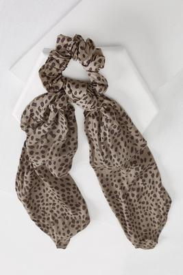 cheetah pony scarf