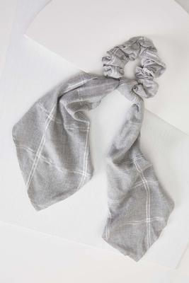 plaid pony scarf