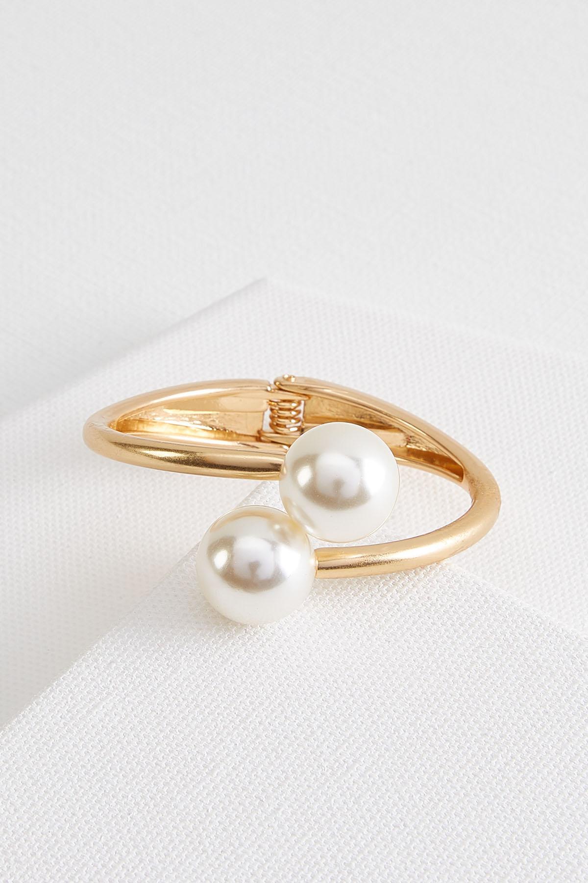 Mod Pearl Cuff Bracelet