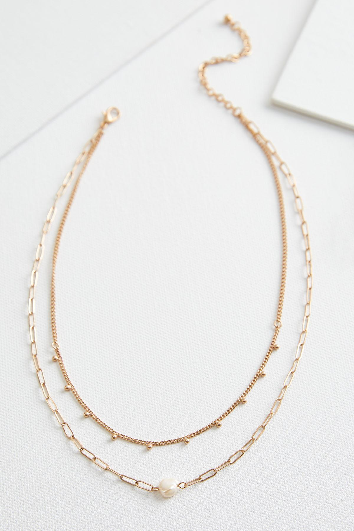 Layered Freshwater Pearl Necklace