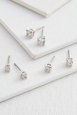 sparkle stud earring set