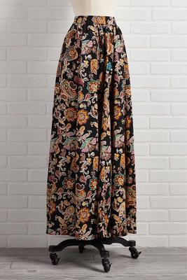 fields of gold maxi skirt