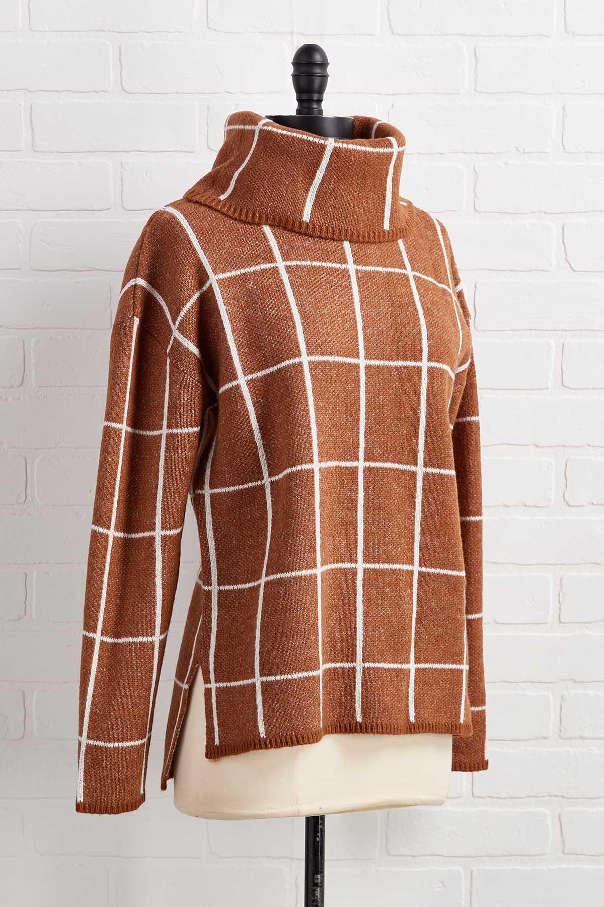 Checking It Out Twice Sweater