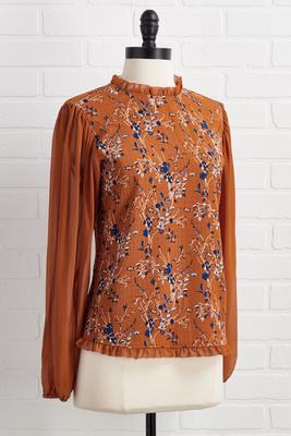 fall evening top