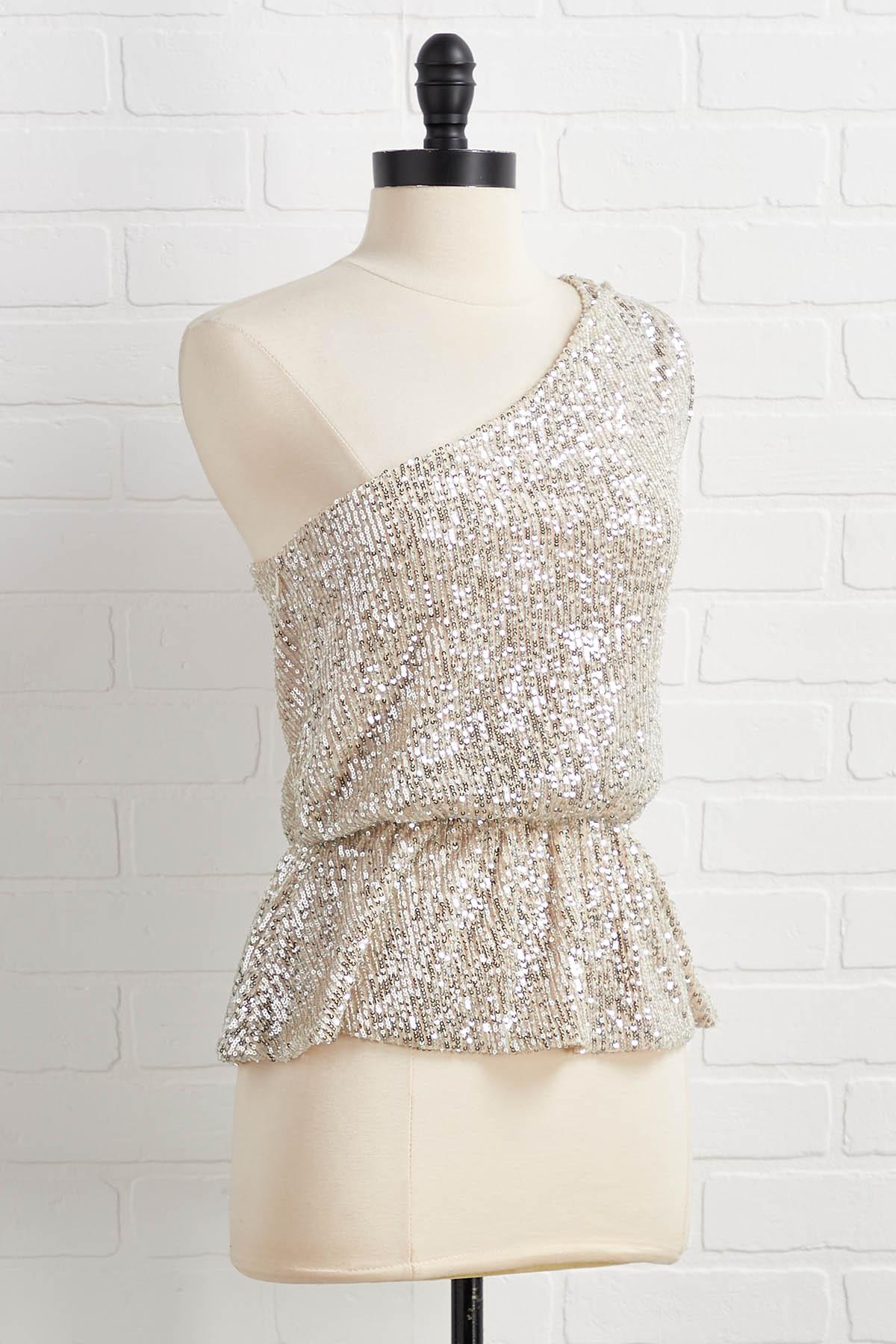 The One Shoulder For Me Top