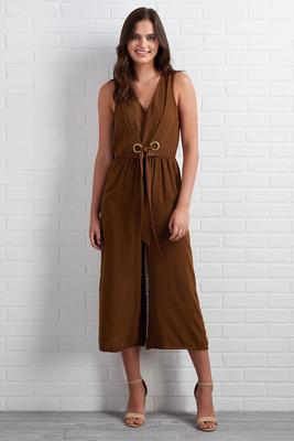 hint of cocoa jumpsuit