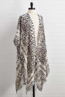 striving for purrfection kimono