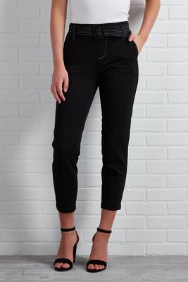 crop it like it`s hot trouser pants