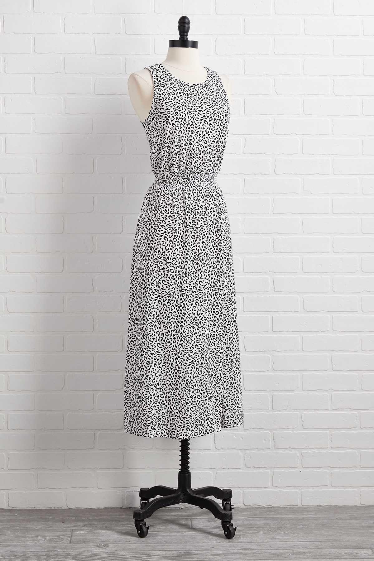 Up To Snow Leopard Good Dress