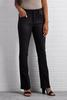 Washed Black Bootcut Jeans
