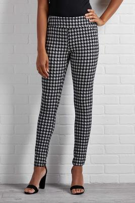 happy hour houndstooth leggings