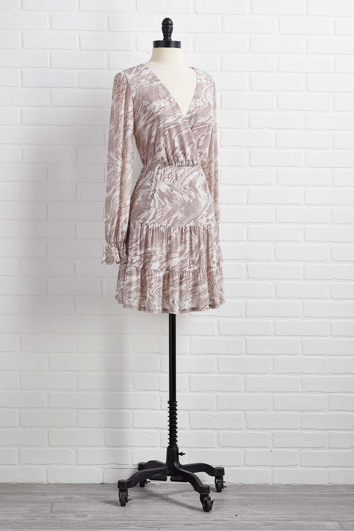 Gray Area Dress