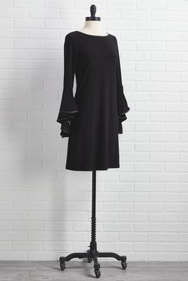 bell sleeve a message dress
