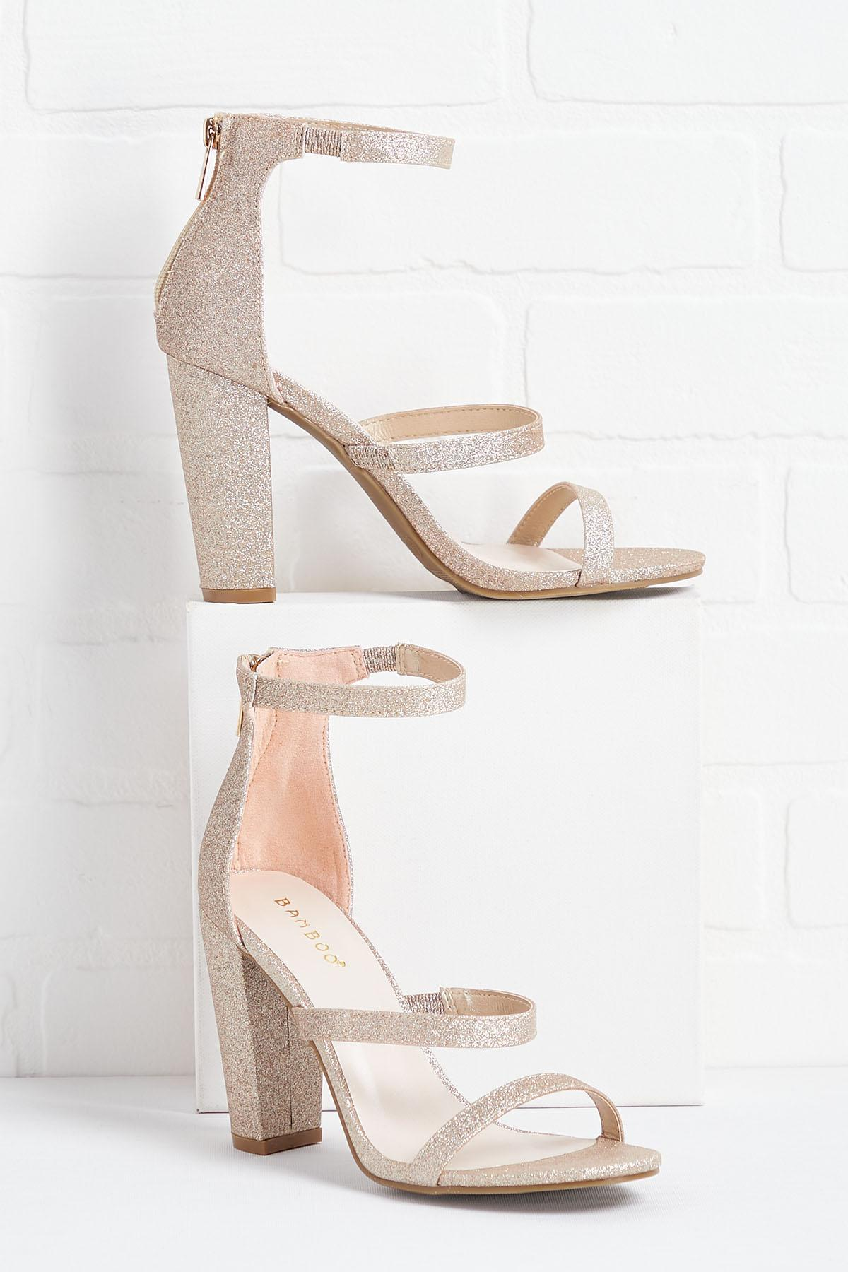 Pop The Champagne Heels