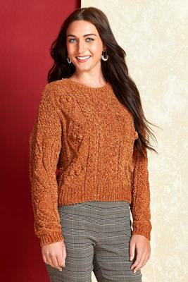 caramel kisses sweater