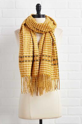 autumn sunshine oblong scarf