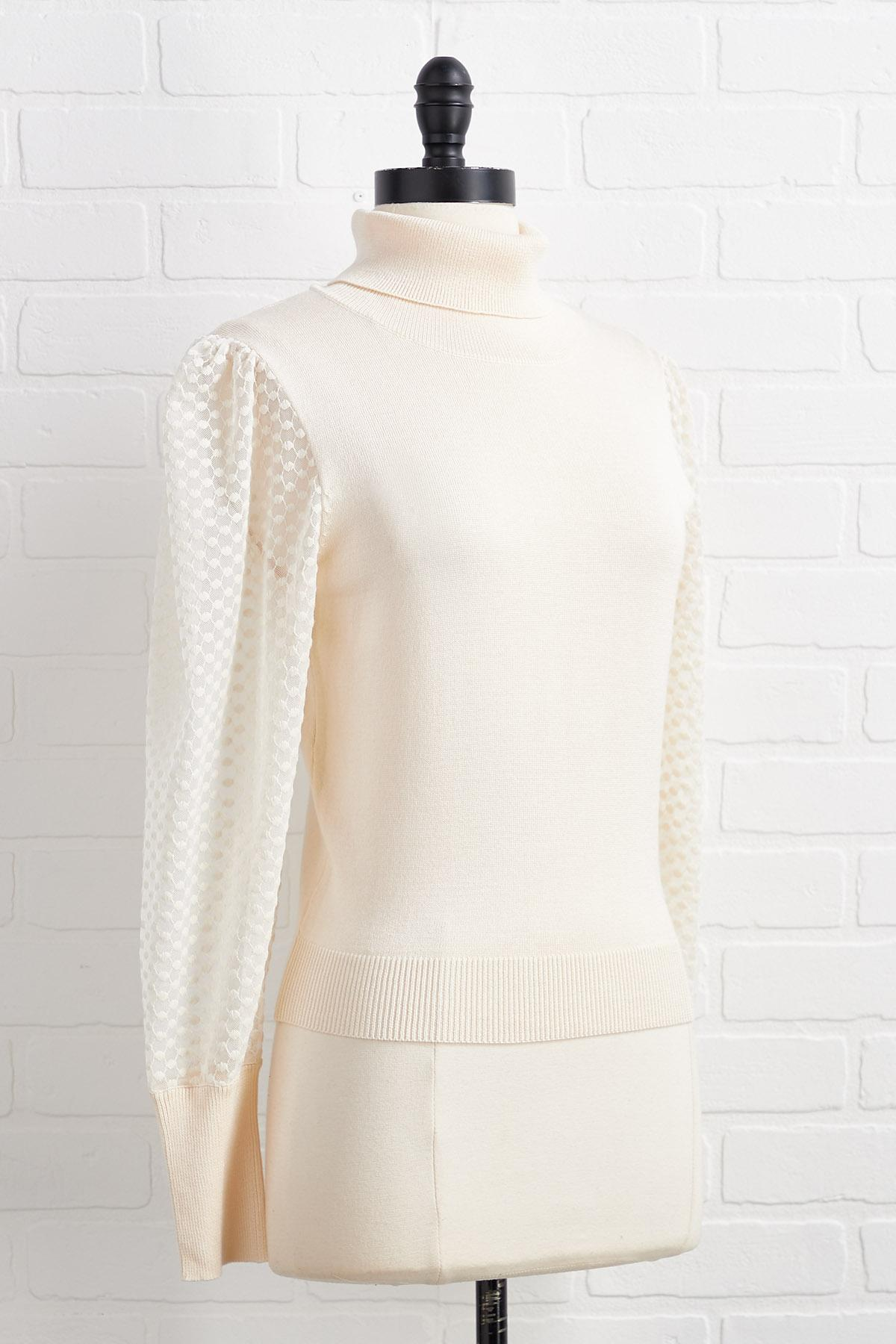 Mesh With The Wrong Girl Sweater