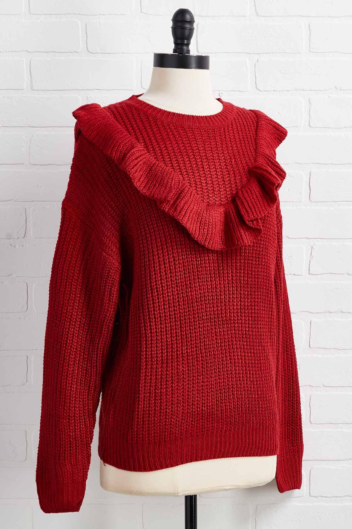 Winter Romance Sweater