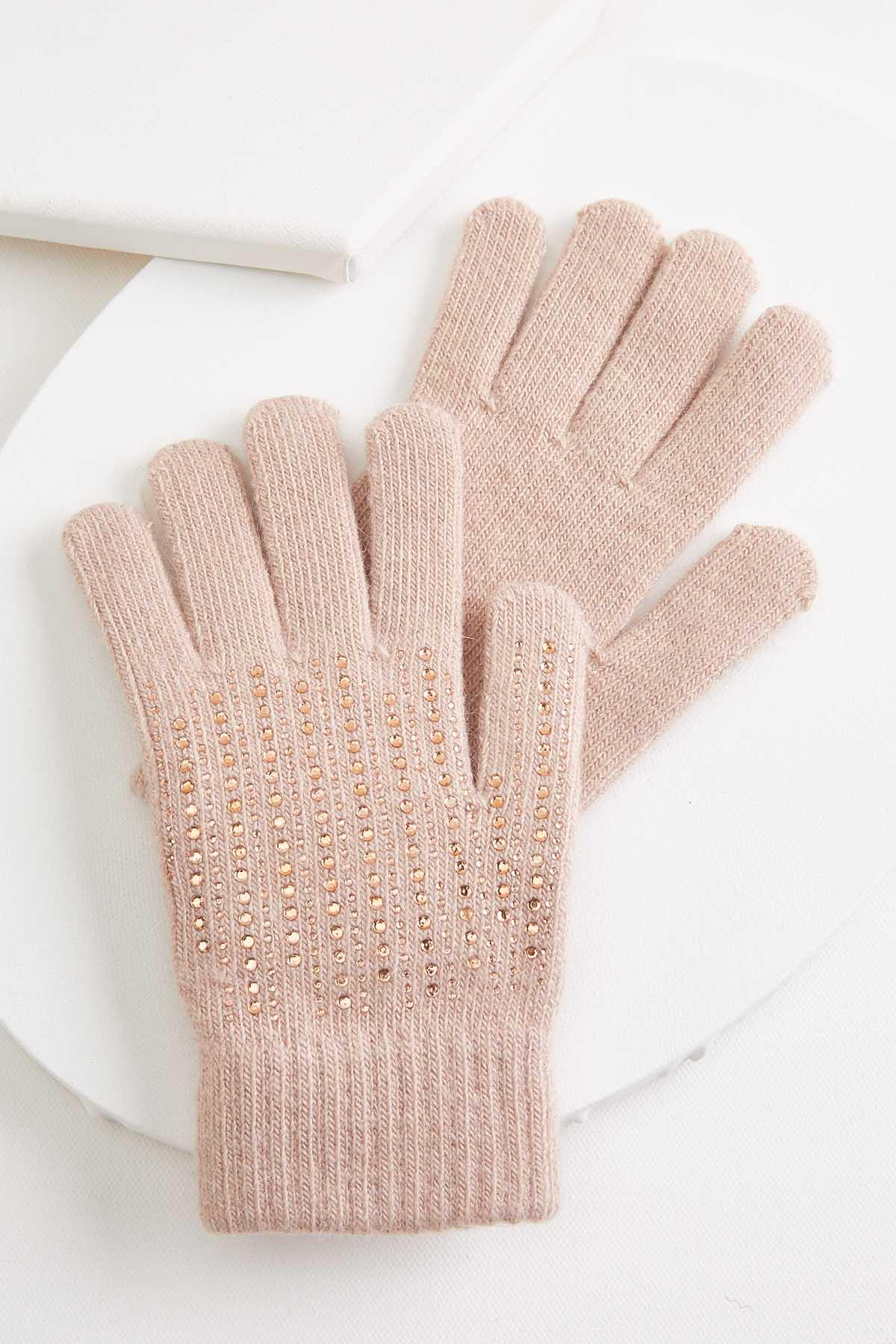 Toasty Hands Embellished Gloves