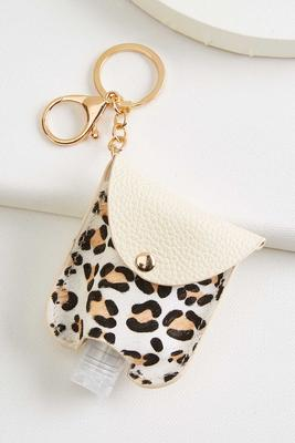 animal sanitizer keychain