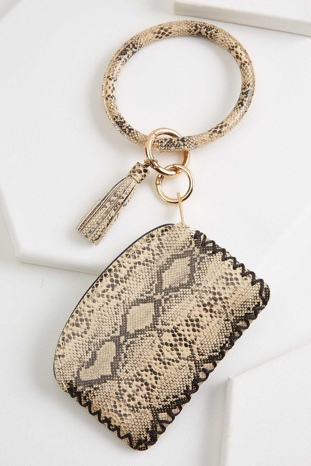 Snake Bangle Keychain